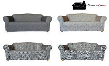 SureFit Stretch Statement Prints Couch Lounge Sofa Recliner Cover ~ 5 Patterns