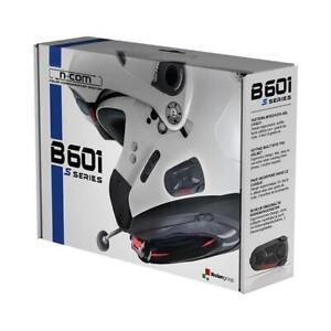 Set Gegensprechanlage Motorrad Bluetooth Telefon / Musik / Navi Neu n-Com B601 S