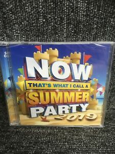 NOW THATS WHAT I CALL A SUMMER PARTY 2019 - VARIOUS - 2 X CD. New Sealed.
