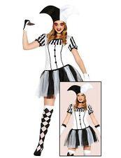 GUIRCA Costume black joker jolly horror halloween carnevale uomo mod 80688