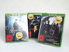 Resident Evil 4, 5, 6 Bundle Set - Xbox One - XB1 / Uncut / *nagelneu*
