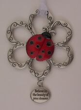 z Believe in beauty of dreams Loving Little Ladybugs Ornament car charm ladybug