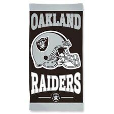 "NFL Oakland Raiders - Beach Towel  30"" x 60"" - 100% Cotton"