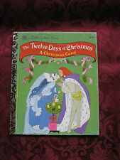 The Little Golden Book The Twelve Days of Christmas  Christmas Carol 1992 451-16