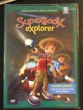SUPERBOOK EXPLORER CBN DVD Vol 9 John Baptist Elijah CBN NEW Hard Case FREE SHIP