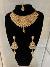 Pakistani Indian Bollywood Jewelry necklace full set