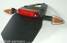 LED-Rücklicht Blinker Heckteil Super-Moto Enduro Trial universal E-Prüfz. NEU