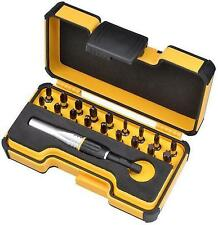 Felo 4 Impact Strong Box with 18 screw bits and Impact Bit Holder