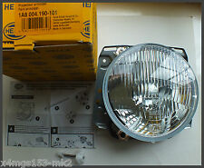 VW MK2 Golf Genuine OEM - HELLA H4 Headlight For LHD Cars - 1 Pc - BRAND NEW!!