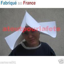 Chapeau,Coiffe de Cornette,Bonne Soeur,Religieuse,Nonne,Accessoire,Carnaval,Fete