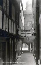 Shrewsbury Golden Cross Passage unused sepia RP old postcard  Judges 3344
