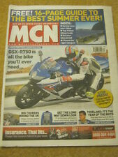 MCN - MOTORCYCLE NEWS - GSX R750 - 19 March 2008