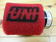 """UNI UNIVERSAL ANGLED 2 STAGE POD AIR FILTER FITS 1 1/2"""" OR 38mm FREE SHIPPING!"""