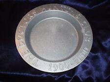 THE DOCTORS HUNTING CLUB 1900-2000 METAL ALUMINUM  SHALLOW 1 QUART BOWL ALUMINUM