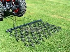 6-1/2' x 4' Long Drag Chain Harrow Landscape Lawn Arena ATV Rake