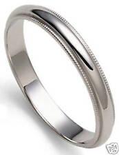 SAVE $$$ LADY PLATINUM 3 MM MILLGRAIN WEDDING BAND RING