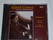 APR - Alfred Cortot - The Late Recordings, Vol. 3 (CD 2007) SEALED