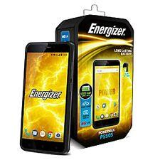 BNIB Energizer POWER MAX P550S Dual-SIM 16GB Black Factory Unlocked 4G SIMFree