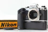 [Near MINT] Nikon FM 35mm SLR Camera W/ Nikon MD-12 Motor Drive Strap From Japan
