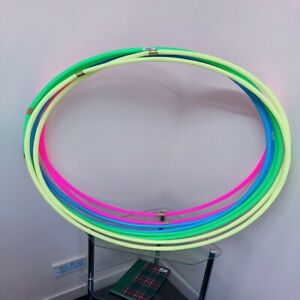 Multicolor Small Large Hula Hoops Adults Kids Solid Hula Hoop Fitness Exercise