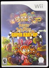 Myth Makers Super Kart GP Nintendo Wii 2007 Video Game No Manual