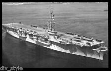 USS Rendova CVE-114  postcard US Navy ship aircraft carrier