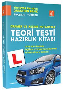 İngiltere Ehliyeti Teori Testi İngilizce Türkçe Hazırlık Kitabı 2021 Icın NEW