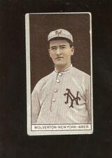 1912 T207 Recruit Tobacco Baseball Card Owen Wolverton