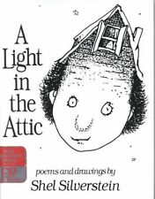 a Light in The Attic With CD Book Shel Silverstein HB 0066236177 BAZ