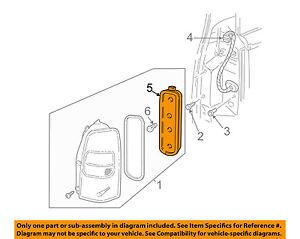 GM OEM Taillight Tail Light Lamp Rear-Socket Left 12335926