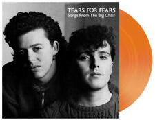 TEARS FOR FEARS - SONGS FROM THE BIG CHAIR, 2019 EU LIMITED EDN ORANGE vinyl LP