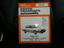 RTA Audi 100 modèle 1983 - Revue Technique Automobile