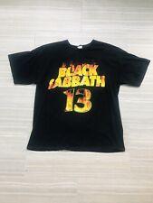 black sabath Concert t shirt Mens XL 2013 Tour Ozzy Osborne
