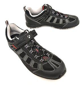 Bontrager SSR Multisport Mountain Bike Shoes EU 43 US Men 10 Black 2 Bolt Lace