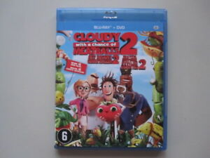 CLOUDY WITH A CHANCE OF MEATBALL 2 - BLU-RAY + DVD