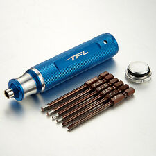 TFL RC Tool 6-in-1 Multi-function Tool Kits Hex Philip Flat Screwdriver T1606-02