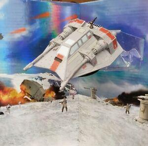 Star Wars Miniatures - Battle of Hoth: Rebel Snowspeeder (Rare) #10 w/Card