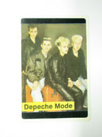 DEPECHE MODE MUSIC BAND GROUP SINGER ARTIST PERFORMER POCKET CALENDAR CARD