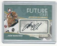 2010-11 Between The Pipes Jacob Markstrom SP AUTO  Vancouver Canucks autograph