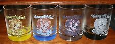 "Don Ed Hardy ""Beautiful Ghost"" Rocks Glass Set of 4"