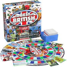 LOGO Best of British gioco da tavolo famiglia Brand New! età 12+ Drumond Park del libero!