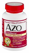 AZO Urinary Tract Health Maximum Strength 25,000mg Cranberry, 100ct, 1 Pack