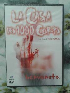 LA CASA DEI 1000 CORPI - DVD - ROB ZOMBIE - NUOVO SIGILLATO