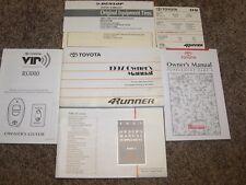 1997 Toyota 4Runner Factory Owner Owner's User Guide Manual RARE ORIGINAL SR5