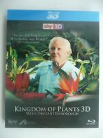 Kingdom of Plants with David Attenborough (3D + 2D Blu-ray, 2012) with 3D slip