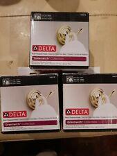 Se 00006000 t of 3, Delta 138276 Greenwich Bath Robe Hook Polished Brass Finish