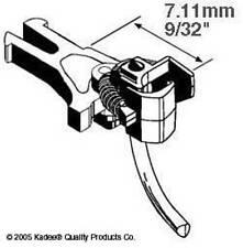 Kadee #17 Magnetic Knuckle Couplings European NEM 362 Short 7.11mm x 2 Pairs 1st