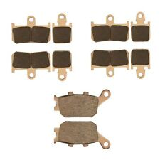 For Yamaha YZF R1 2007-2014 Front Rear Brake Pads Kit Sintered Copperbased New