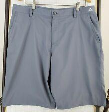 ADIDAS ADIZERO Shorts 36 Waist 11 Inseam Mens Granite Ultra-Light Golf/Casual