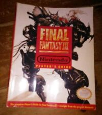 Games Final Fantasy III 3 Official Strategy Guide, Great Condition Nintendo